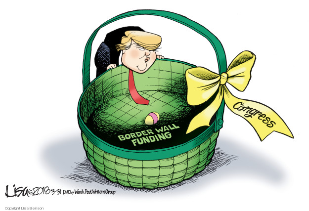 Cartoonist Lisa Benson  Lisa Benson's Editorial Cartoons 2018-03-31 Mexico
