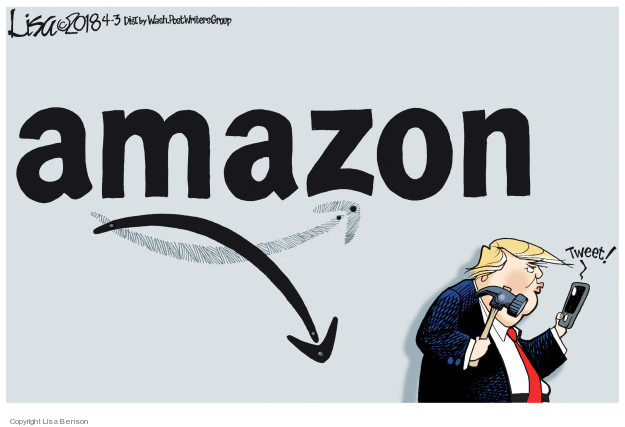 Lisa Benson  Lisa Benson's Editorial Cartoons 2018-04-03 corporate