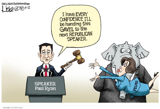 Cartoonist Lisa Benson  Lisa Benson's Editorial Cartoons 2018-04-12 legislative branch