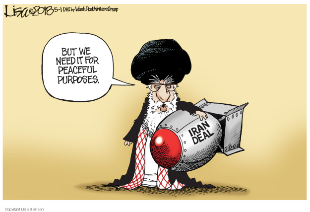 Lisa Benson  Lisa Benson's Editorial Cartoons 2018-05-01 Ali