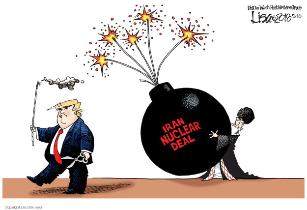 Cartoonist Lisa Benson  Lisa Benson's Editorial Cartoons 2018-05-10 Donald Trump