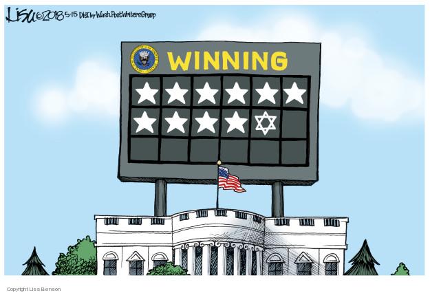 Winning.