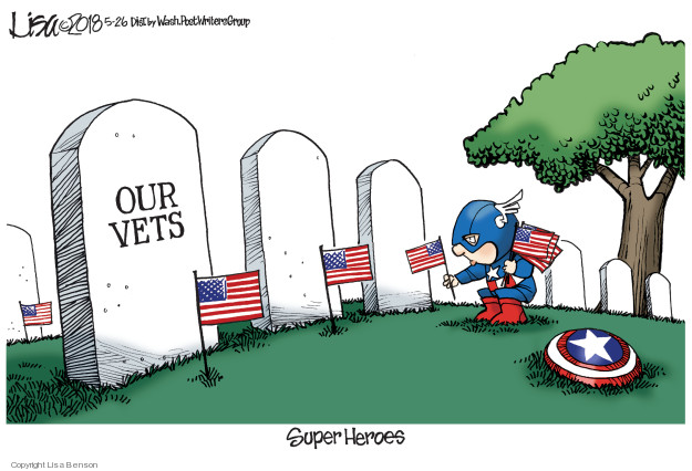 Our Vets. Super Heroes.