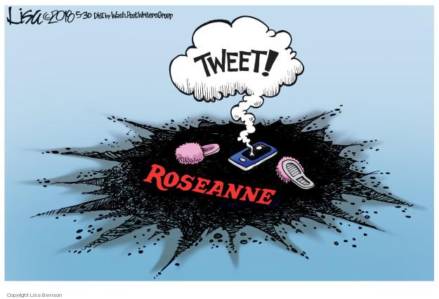 Cartoonist Lisa Benson  Lisa Benson's Editorial Cartoons 2018-05-30 tweet