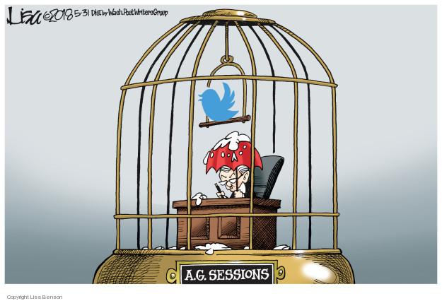 Cartoonist Lisa Benson  Lisa Benson's Editorial Cartoons 2018-05-31 attorney