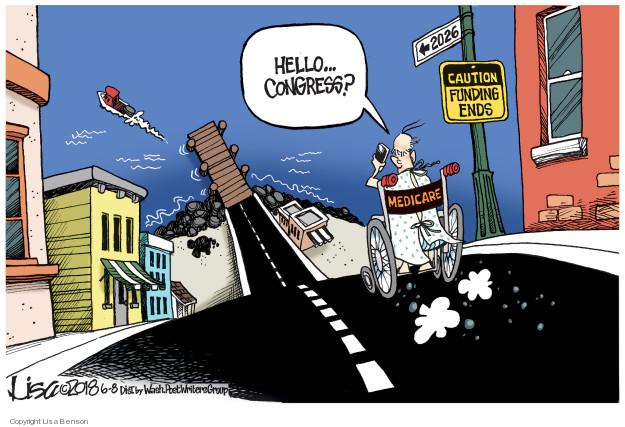 Cartoonist Lisa Benson  Lisa Benson's Editorial Cartoons 2018-06-08 federal budget