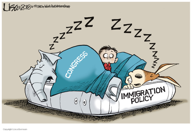 Zzzzzz Zzzzzzzz. Congress. Immigration policy.