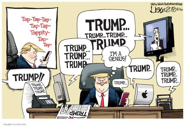 Cartoonist Lisa Benson  Lisa Benson's Editorial Cartoons 2018-08-16 social media politics