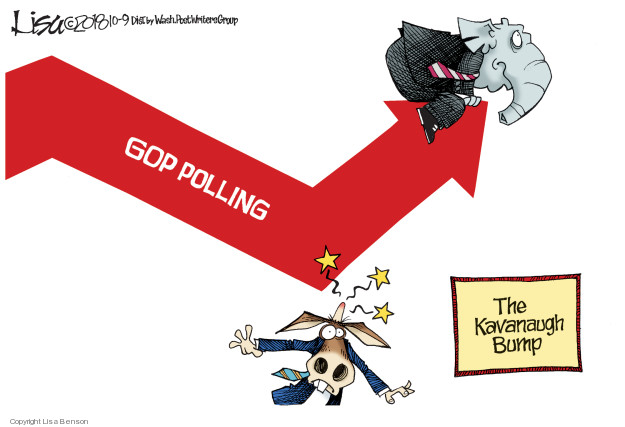 GOP polling. The Kavanaugh Bump.