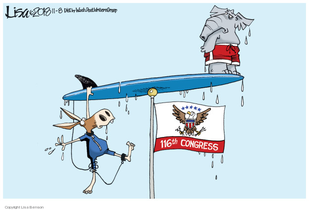 Cartoonist Lisa Benson  Lisa Benson's Editorial Cartoons 2018-11-08 progressive