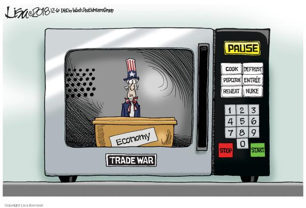 Lisa Benson  Lisa Benson's Editorial Cartoons 2018-12-06 trade