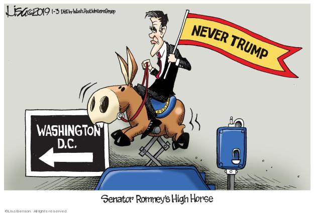 Cartoonist Lisa Benson  Lisa Benson's Editorial Cartoons 2019-01-03 legislative branch