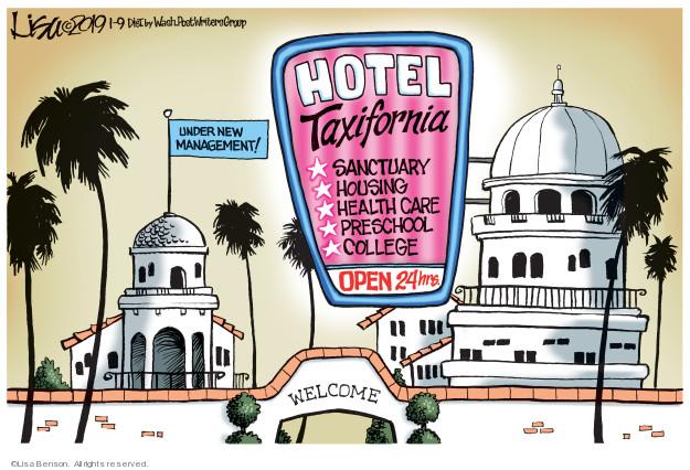 Lisa Benson  Lisa Benson's Editorial Cartoons 2019-01-09 immigration