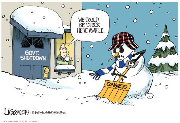 Cartoonist Lisa Benson  Lisa Benson's Editorial Cartoons 2019-01-15 branch