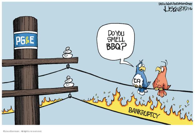Lisa Benson  Lisa Benson's Editorial Cartoons 2019-01-16 gas
