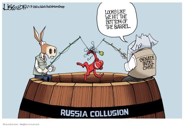 Lisa Benson  Lisa Benson's Editorial Cartoons 2019-02-13 Robert Mueller