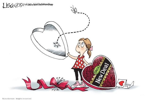 Cartoonist Lisa Benson  Lisa Benson's Editorial Cartoons 2019-02-14 environmental