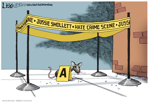 Cartoonist Lisa Benson  Lisa Benson's Editorial Cartoons 2019-02-21 attack