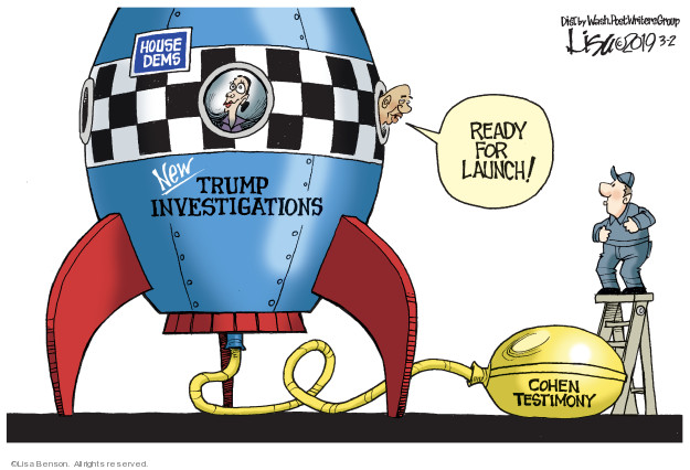 Cartoonist Lisa Benson  Lisa Benson's Editorial Cartoons 2019-03-02 ready