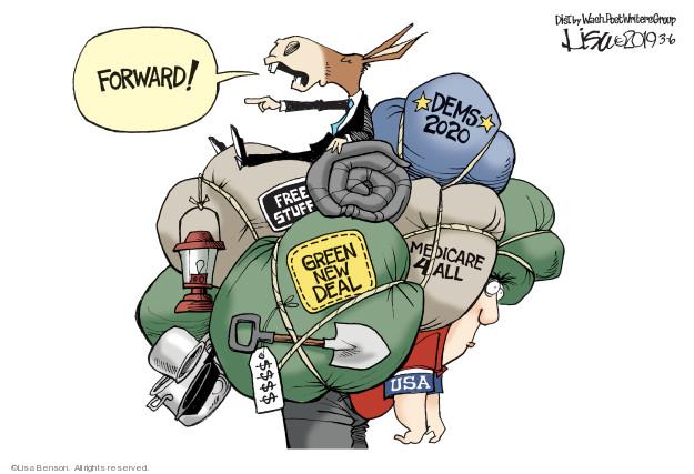 Cartoonist Lisa Benson  Lisa Benson's Editorial Cartoons 2019-03-06 progressive