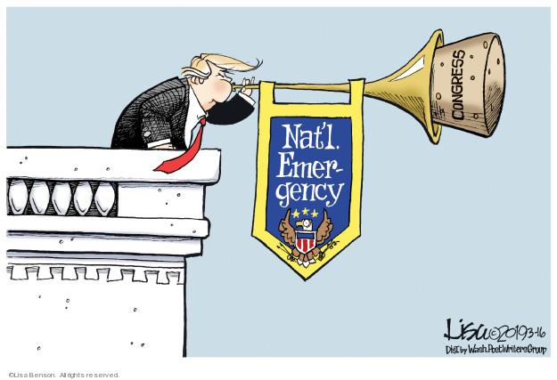 Cartoonist Lisa Benson  Lisa Benson's Editorial Cartoons 2019-03-16 legislative branch