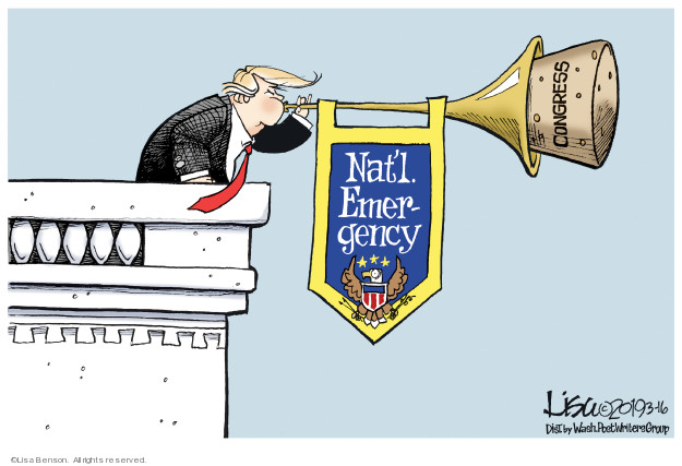 Lisa Benson  Lisa Benson's Editorial Cartoons 2019-03-16 immigration