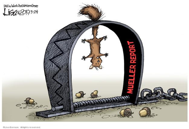 Lisa Benson  Lisa Benson's Editorial Cartoons 2019-03-24 independent