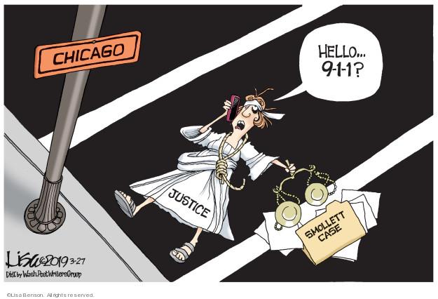 Cartoonist Lisa Benson  Lisa Benson's Editorial Cartoons 2019-03-27 attack