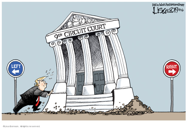 Cartoonist Lisa Benson  Lisa Benson's Editorial Cartoons 2019-04-06 justice system