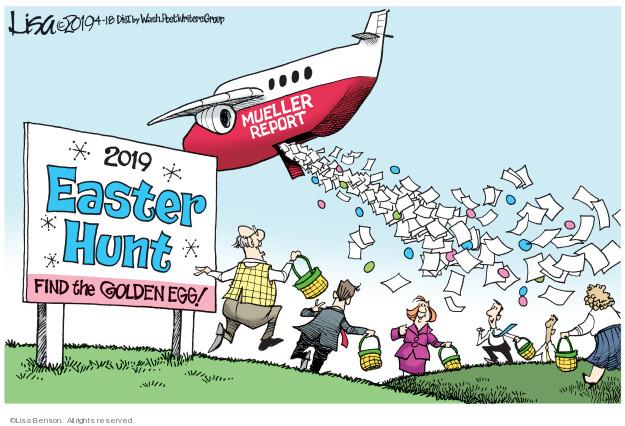 Cartoonist Lisa Benson  Lisa Benson's Editorial Cartoons 2019-04-18 Russia