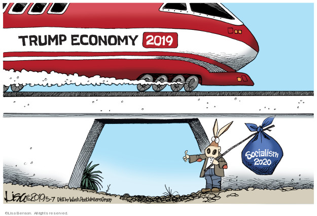 Lisa Benson  Lisa Benson's Editorial Cartoons 2019-05-07 economy