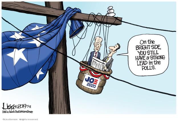 Lisa Benson  Lisa Benson's Editorial Cartoons 2019-07-11 Joe Biden