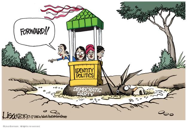 Cartoonist Lisa Benson  Lisa Benson's Editorial Cartoons 2019-07-17 congressional leadership