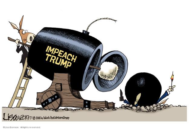 Cartoonist Lisa Benson  Lisa Benson's Editorial Cartoons 2019-07-18 progressive
