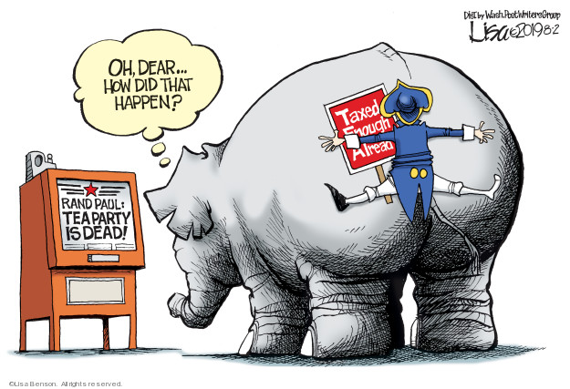 Lisa Benson  Lisa Benson's Editorial Cartoons 2019-08-02 GOP
