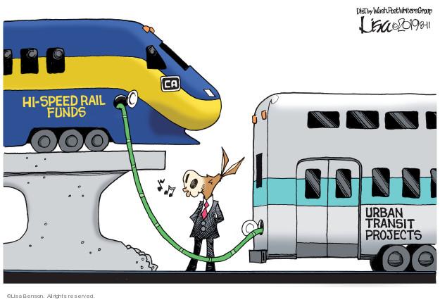Cartoonist Lisa Benson  Lisa Benson's Editorial Cartoons 2019-08-11 fund