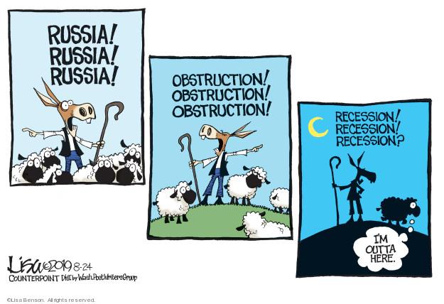 Cartoonist Lisa Benson  Lisa Benson's Editorial Cartoons 2019-08-24 progressive