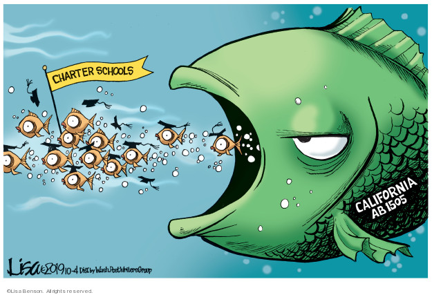 Cartoonist Lisa Benson  Lisa Benson's Editorial Cartoons 2019-10-04 politics
