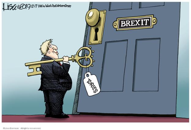 Lisa Benson  Lisa Benson's Editorial Cartoons 2019-12-17 conservative
