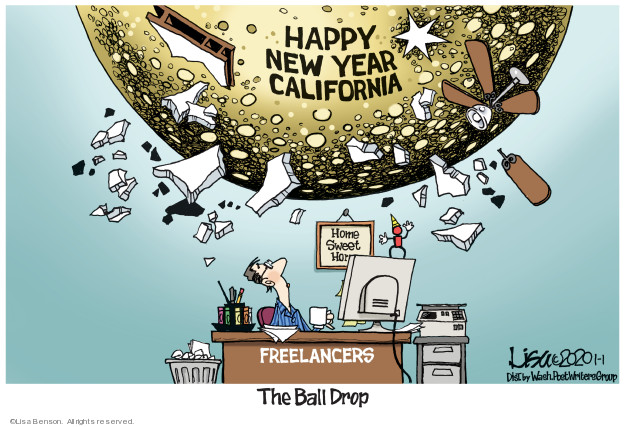 Lisa Benson  Lisa Benson's Editorial Cartoons 2020-01-01 California
