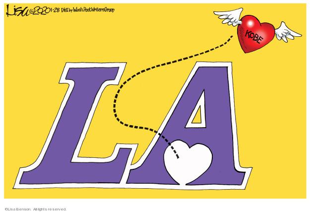 Cartoonist Lisa Benson  Lisa Benson's Editorial Cartoons 2020-01-28 editorial
