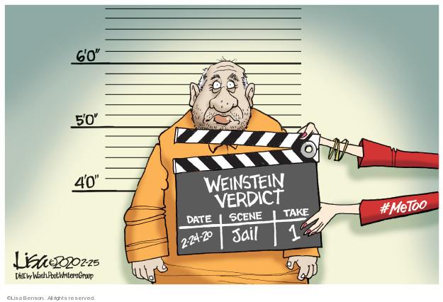 Lisa Benson  Lisa Benson's Editorial Cartoons 2020-02-25 assault