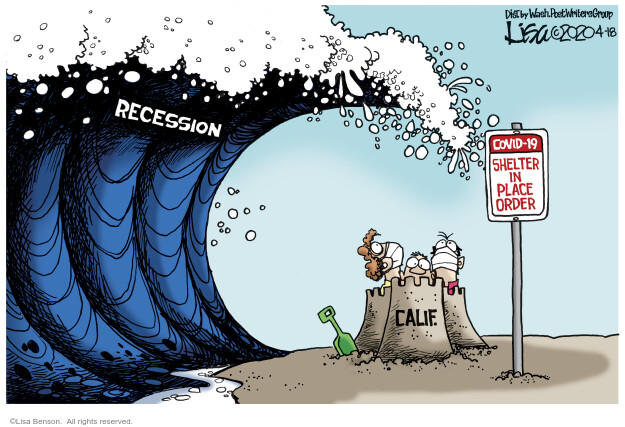 Lisa Benson  Lisa Benson's Editorial Cartoons 2020-04-18 recession