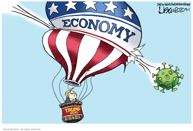 Lisa Benson  Lisa Benson's Editorial Cartoons 2020-05-01 recession
