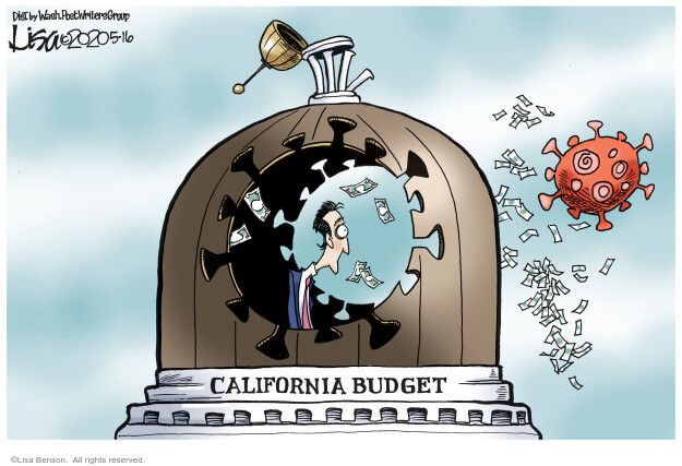 Lisa Benson  Lisa Benson's Editorial Cartoons 2020-05-16 California