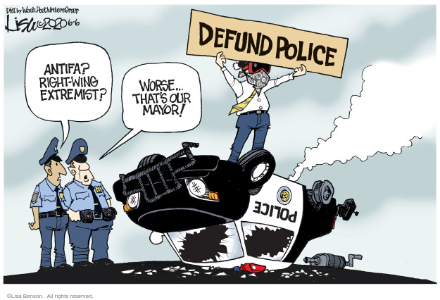 Cartoonist Lisa Benson  Lisa Benson's Editorial Cartoons 2020-06-06 Black Lives Matter