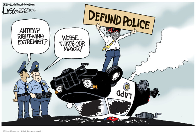 Lisa Benson  Lisa Benson's Editorial Cartoons 2020-06-06 Black Lives Matter