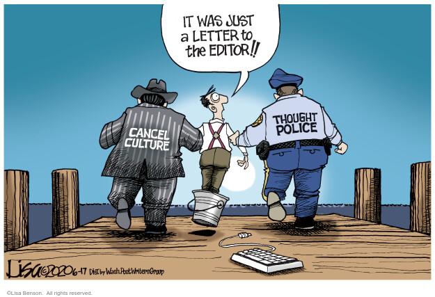 Cartoonist Lisa Benson  Lisa Benson's Editorial Cartoons 2020-06-17 editorial