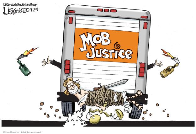 Lisa Benson  Lisa Benson's Editorial Cartoons 2020-09-25 Black Lives Matter