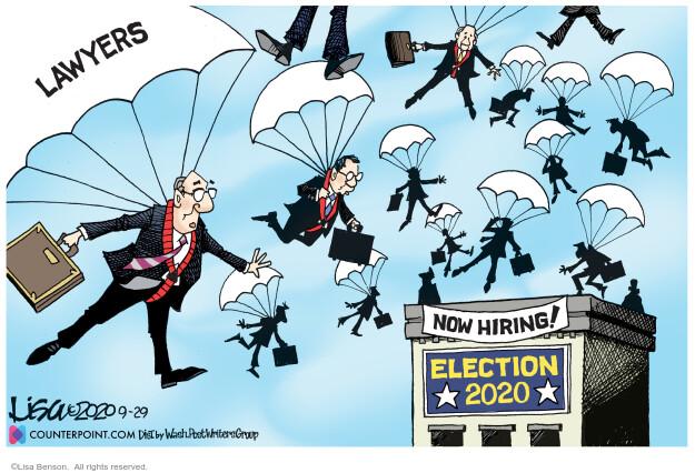 Lisa Benson  Lisa Benson's Editorial Cartoons 2020-09-29 campaign